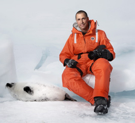 Nigel barker and baby seal